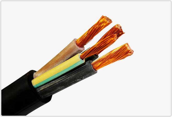 Силовий гнучкий кабель