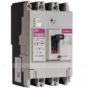 Автоматичний вимикач ETI EB2 125/3S 125А