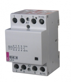 Модульний контактор RD 40, 40A, 230B