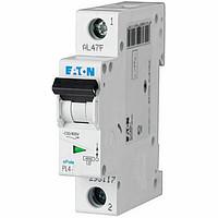 Автоматичний вимикач EATON PL4-C16, 1р, 16А, C