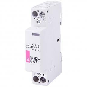 Модульний контактор RA20-25 20А, 230В