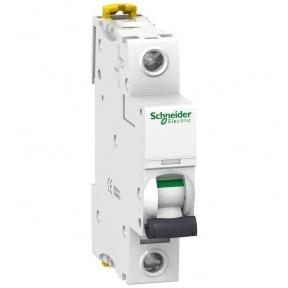 Автоматичний вимикач SE Acti 9, 1р, 4А, C