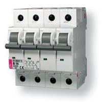 Автоматичний вимикач ETI Etimat 6, 4р, 6А, C