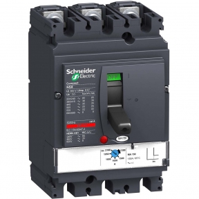 Автоматичний вимикач NSX100F 3P3D TM-D 80A 36kA(копія)(копія)
