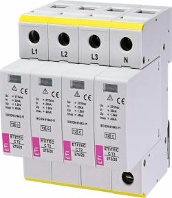 Обмежувач перенапруги ETITEC C T2 275/20 (3+0)RC