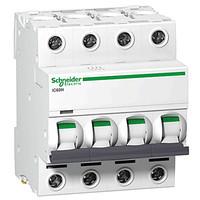 Автоматичний вимикач SE Acti 9, 4р, 25А, C