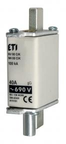 Запобіжник з індикатором NH-1/K gG KOMBI 80A 690V, ETI