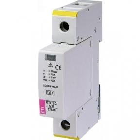 Обмежувач перенапруги ETITEC C T2 275/20 (1+0) RC