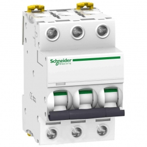 Автоматичний вимикач SE Acti 9, 3р, 50А, C