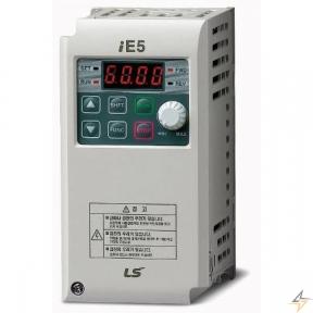 Однофазний частотний перетворювач LS SV001iE5-1 0,1kW (Modbus)
