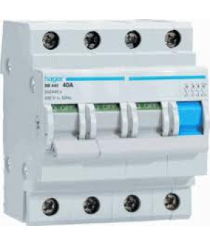 Модульні вимикачі навантаження